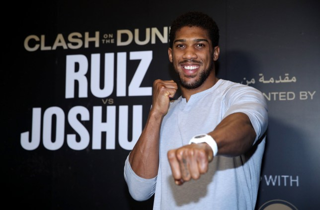 Anthony Joshua has reportedly been knocking out opponents in sparring