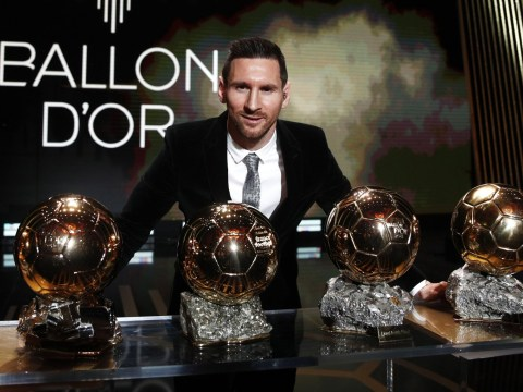 Full Ballon d'Or ranking 2019: Lionel Messi wins award and sets new record