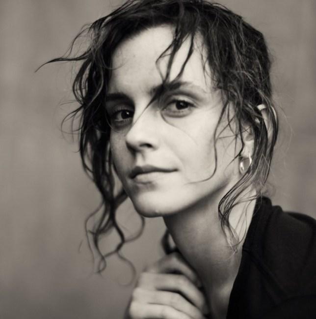 Emma Watson photographed in the 2020 Pirelli calendar