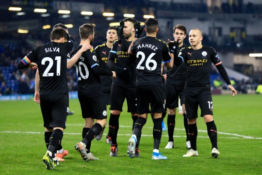 Man City beat Burnley 4-1 on Tuesday evening in the Premier League