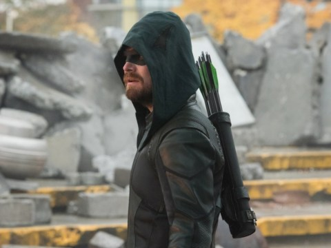 Stephen Amell prepares to say goodbye to Arrow ahead of finale and we're getting emotional