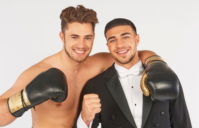 Love Island's Tommy Fury and Curtis Pritchard swap lives in new TV series