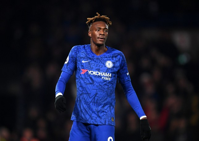 Tammy Abraham was forced off during Chelsea's win over Aston Villa