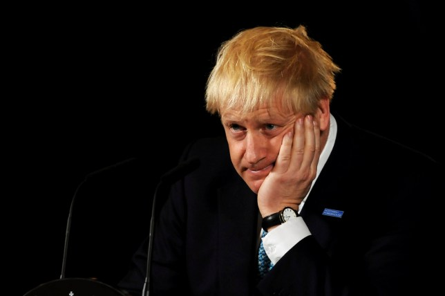 MANCHESTER, ENGLAND - JULY 27: Britain's Prime Minister Boris Johnson during a speech on domestic priorities at the Science and Industry Museumon July 27, 2019 in Manchester, England. The PM announced that the government will back a new rail route between Manchester and Leeds. (Photo by Rui Vieira - WPA Pool/Getty Images)