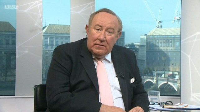Andrew Neil singles out Boris Johnson at end of Farage interview