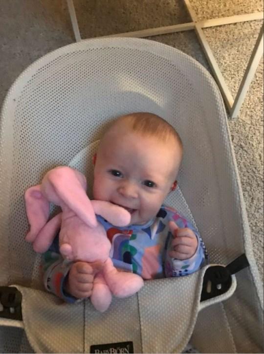 Four-month-old Georgina Addison
