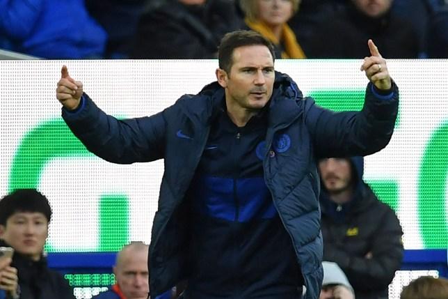 Frank Lampard is targeting former Chelsea defender Nathan Ake