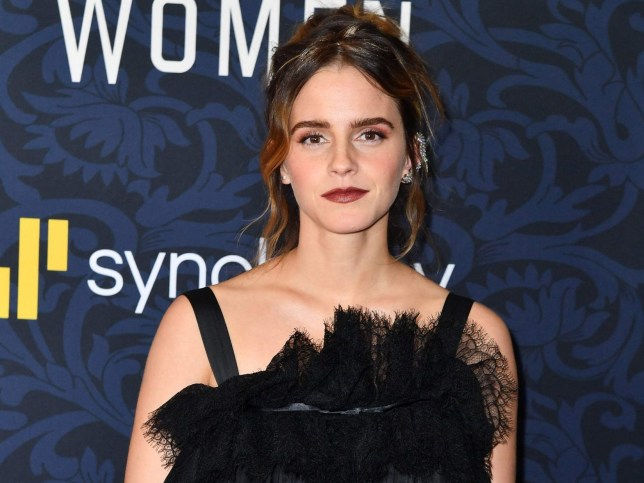 "English actress Emma Watson arrives for ""Little Women"" world premiere at the Museum of Modern Art in New York on December 7, 2019. (Photo by ANGELA WEISS / AFP) (Photo by ANGELA WEISS/AFP via Getty Images)"