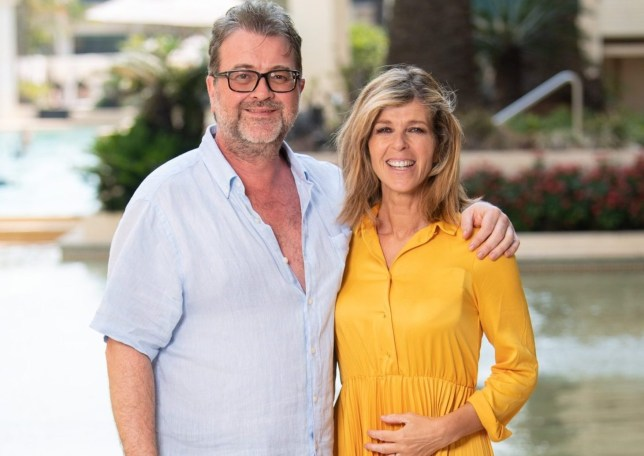 Kate Garraway and husband