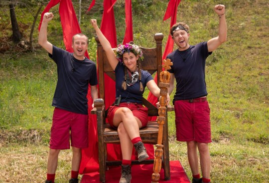 Jaqueline Jossa, Roman Kemp, and Andy Whyment on I'm A Celebrity