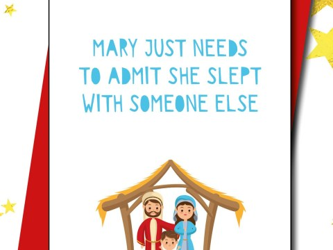 'Deeply offensive' Christmas card asks if Mary 'just slept with someone else'