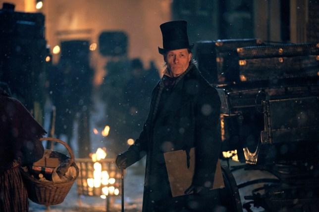 Guy Pearce as Ebeneezer Scrooge