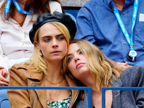 Cara Delevingne 'announces Ashley Benson split' as actress appears to be hacked