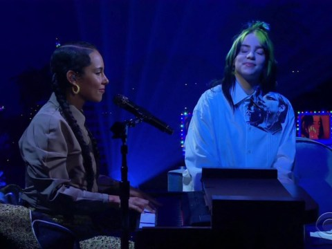 Billie Eilish definitely knows who Alicia Keys is as pair duet after Van Halen controversy