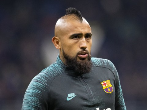 Arturo Vidal storms out of Barcelona training before Real Madrid clash