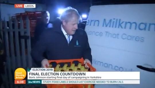Boris Johnson Good Morning Britain