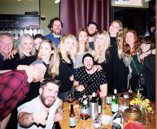 Vikings Alexander Ludwig goofs around with co-star girlfriend in BTS pic