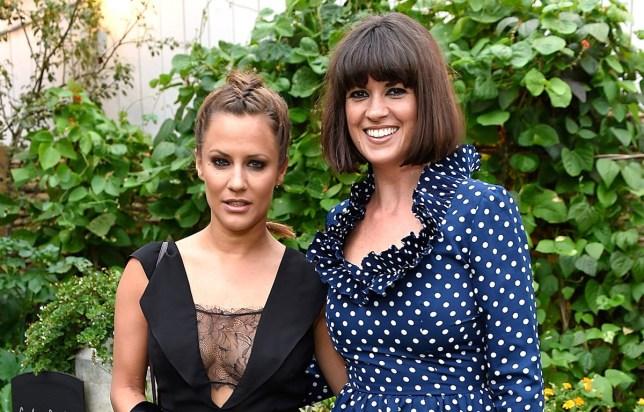 Caroline Flack and Dawn O'Porter