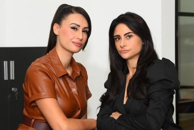 Scarlett Allen-Horton and Carina Lepore, the finalists of The Apprentice 2019