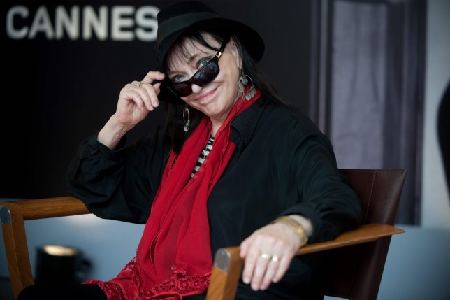 (FILES) In this file photo taken on May 16, 2009 Danish born actress Anna Karina poses during the 62nd Cannes Film Festival. - The actress Anna Karina, mainly known for her roles in the films of Jean-Luc Godard, died on December 14, 2019, in Paris from cancer, at the age of 79, her agent told to AFP on December 15, 2019. (Photo by Martin BUREAU / AFP) (Photo by MARTIN BUREAU/AFP via Getty Images)