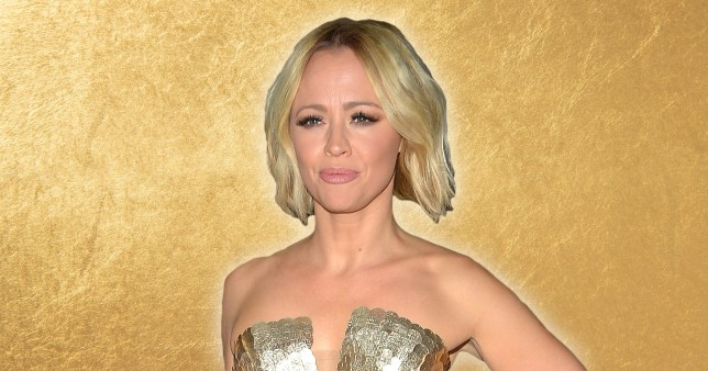 Kimberly Walsh delivers the gift of Gin this Christmas Pictures: Getty