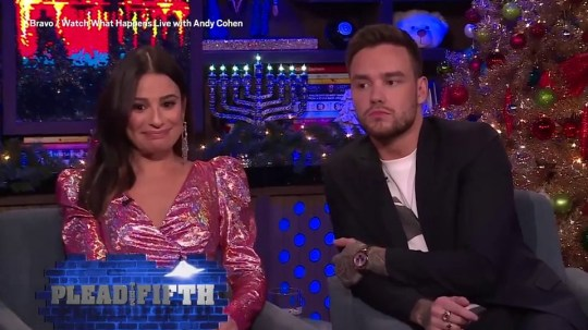 Liam Payne interviewed by Andy Cohen on Watch What Happens Live