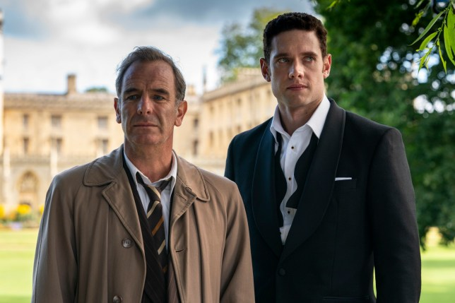 Robson Green and Tom Brittany in Grantchester series 5