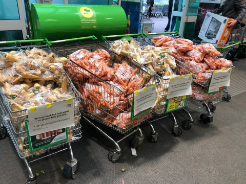 Asda is giving away free vegetables to reduce waste