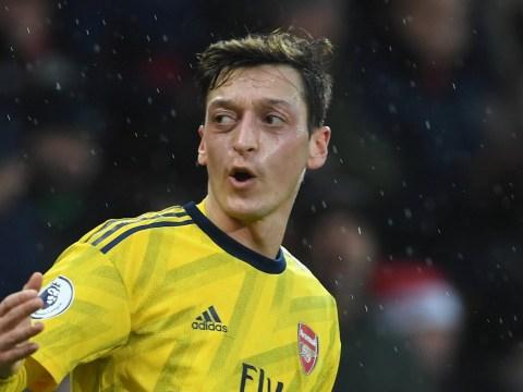 Mikel Arteta sets challenge for Mesut Ozil before Chelsea clash