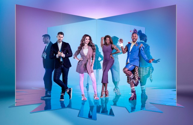 WARNING: Embargoed for publication until 00:00:01 on 27/12/2019 - Programme Name: The Greatest Dancer - TX: n/a - Episode: n/a (No. 1) - Picture Shows: ***EMBARGOED UNTIL 27th DEC 2019*** Matthew Morrison, Cheryl, Oti Mabuse, Todrick Hall - (C) BBC/Thames - Photographer: David Ellis