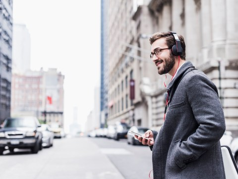Smart headphones could soon stop people walking into traffic while distracted by their phone
