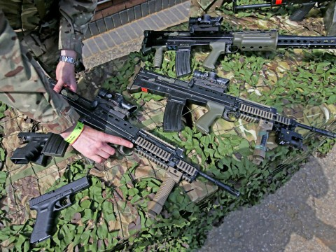 Guns and more than 1,000 bullets lost or stolen from Ministry of Defence bases