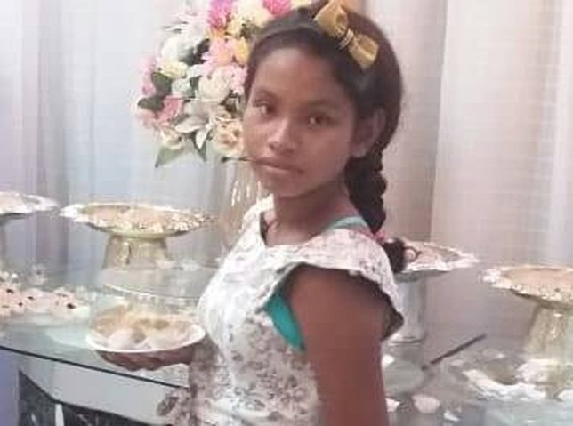 A THIRTEEN YEAR old girl, who was sexually abused for over four years by her father, has died giving birth to his child, police in Brazil claim. School girl, Luana Ketlen, had been allegedly raped by Tome Faba, 36, since the age of nine. No one in her family suspected she was being abused. The evil dad went on the run shortly after his daughter?s death on December 11. He was captured a week later hiding out in Coari city shortly after police issued a wanted poster. The family lived on the outskirts of the Amazon city. He appeared in court on Friday (27) charged with child abuse and manslaughter. The slightly-built teen was seven months pregnant when she was rushed to Coari regional hospital suffering from severe pains. Doctors diagnosed her with acute anaemia and decided to induce labour. She gave birth to a premature baby boy who miraculously survived. But following delivery, the girl?s health took a turn for the worse and test results found she was suffering from multiple complications including cirrhosis of the liver, pleural effusion (excess water on the lungs) and low blood pressure. The tragic adolescent died while being airlifted to a specialist hospital in Manaus, the Amazonas state capital, some 225miles away (363km).