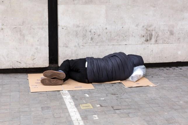 Homelessness in London