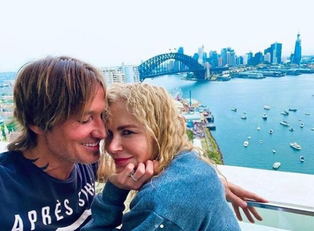 Keith Urban and Nicole Kidman Share Romantic Kiss in Sydney Ahead of the New Year picture: keithurban