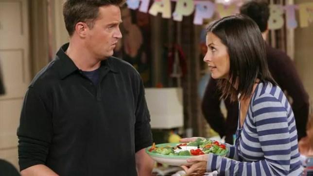 Monica and Chandler Friends