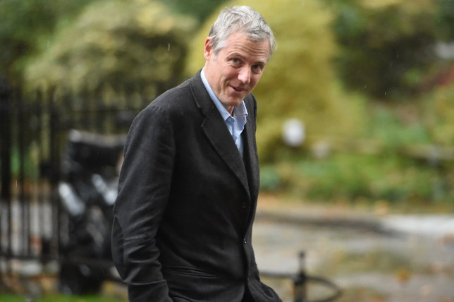 Minister of State Zac Goldsmith leaving 10 Downing Street, London. PA Photo. Picture date: Thursday October 24, 2019. See PA story POLITICS Brexit. Photo credit should read: David Mirzoeff/PA Wire