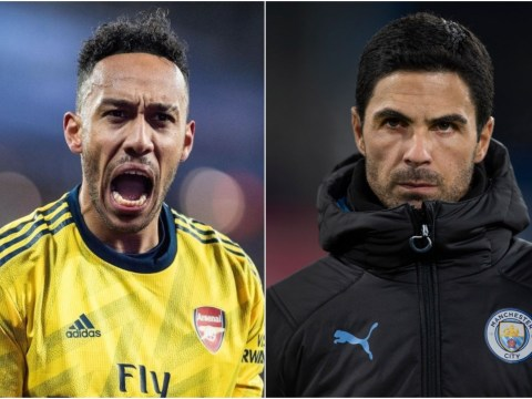 Pierre-Emerick Aubameyang's brother unhappy with Arsenal over Mikel Arteta move