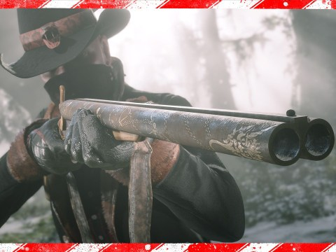 Red Dead Online Christmas update brings a festive shotgun and a free gift