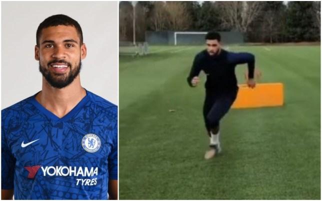 Ruben Loftus-Cheek is back in training for Chelsea