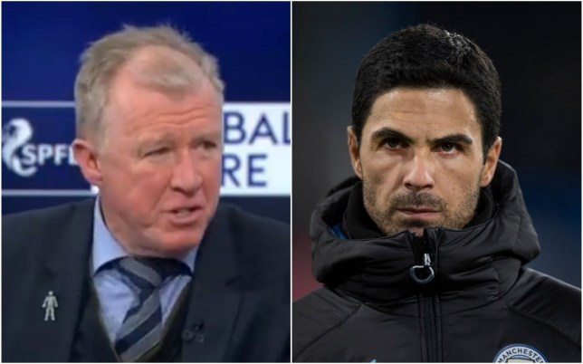 Steve McClaren has urged Mikel Arteta to address Arsenal's defensive frailties