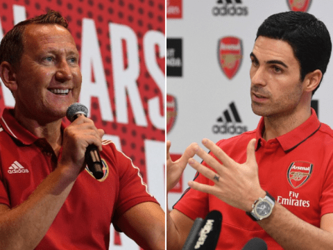 Ray Parlour identifies Mikel Arteta's 'hardest job' as Arsenal head coach