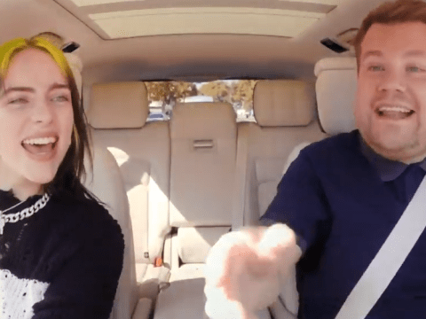 Billie Eilish sings first song she ever wrote when she was 7 on James Corden's Carpool Karaoke – and we are so here for it