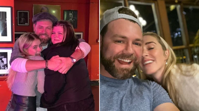 Brian McFadden and daughters with Kerry Katona are thrilled about his engagement