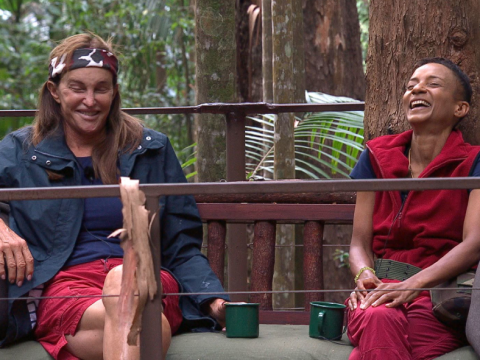 I'm A Celebrity's Adele Roberts makes incredibly kind Caitlyn Jenner gesture in axed scene