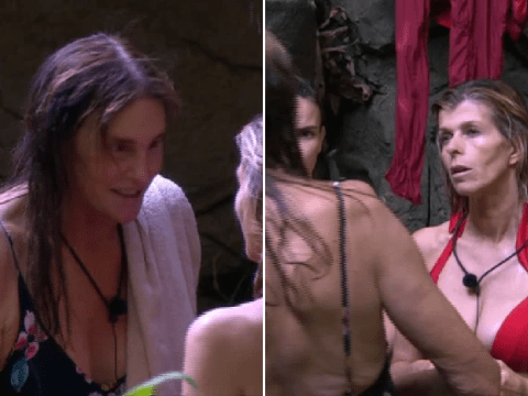 I'm A Celebrity's Caitlyn Jenner awkwardly gives Kate Garraway cosmetic surgery tips in case of crossed wires