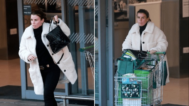 Coleen Rooney shops in style as Rebekah Vardy welcomes fifth child after WAG war