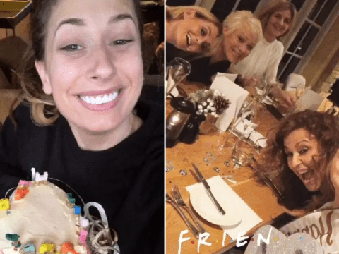 Stacey Solomon enjoys girly weekend away with Loose Women stars to celebrate 30th birthday