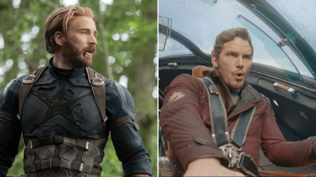 captain america and peter quill