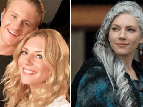 Vikings' Katheryn Winnick jokes she put Alexander Ludwig 'through the ringer' as they reunite ahead of season 6